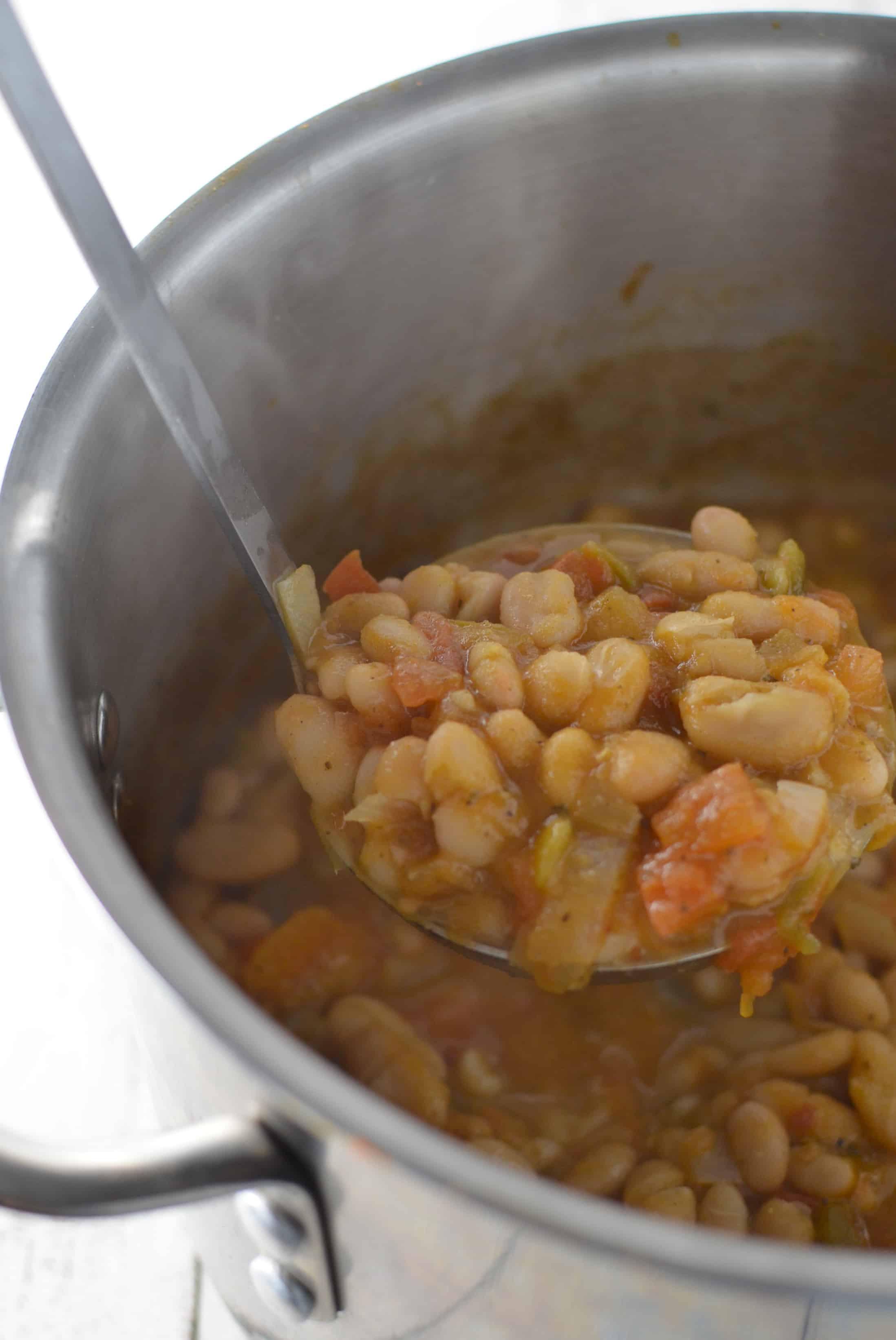 Vegetarian White Bean Chili  Ve arian White Bean Chili Delish Knowledge
