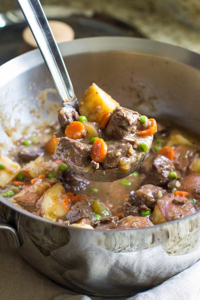 Venison Stew Recipe  Stove Top Venison Stew