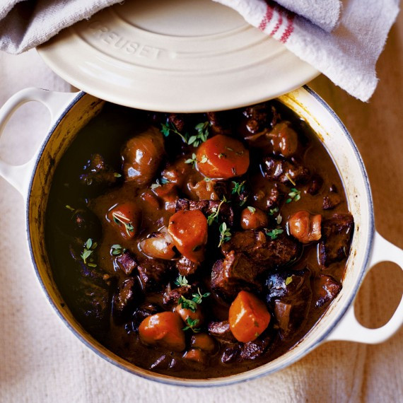 Venison Stew Recipe  Venison Casserole with Boulangere Potatoes Woman And Home