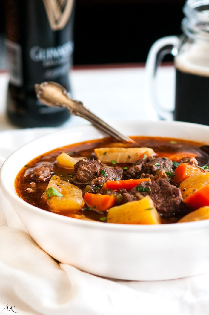 Venison Stew Slow Cooker  Slow Cooker Guinness Beef Stew Aberdeen s Kitchen