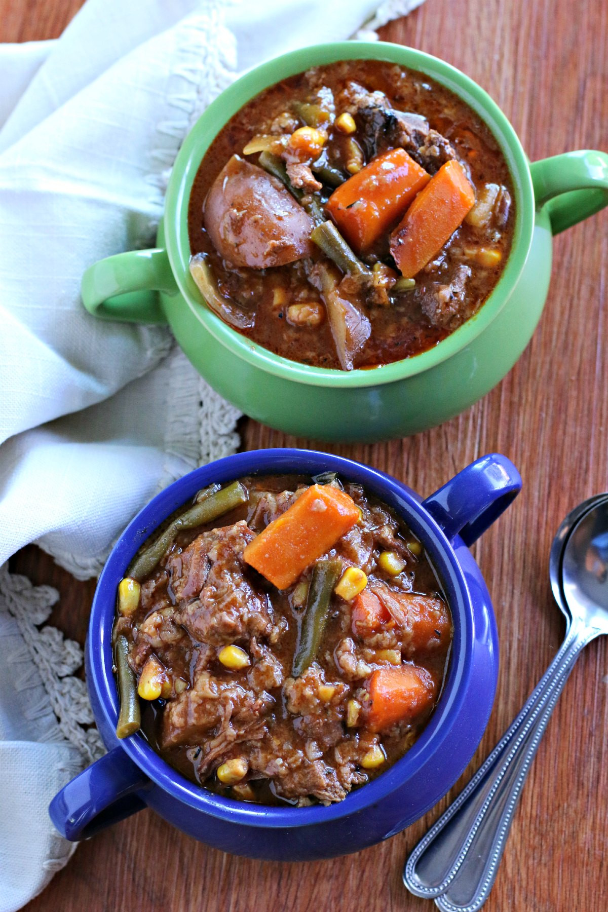 Venison Stew Slow Cooker  Slow Cooker Farmers Market Beef Stew