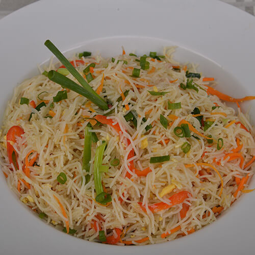 Vermicelli Rice Noodles  fried vermicelli singapore style