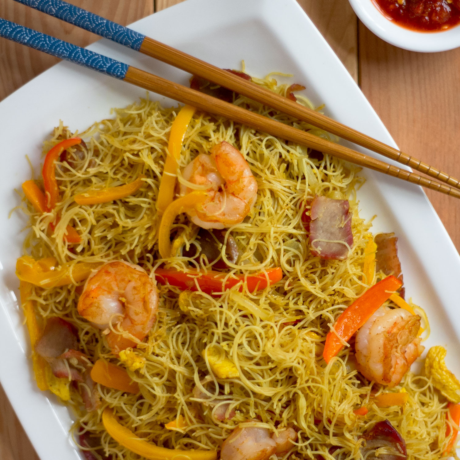 Vermicelli Rice Noodles  Singapore Style Rice Vermicelli 星洲炒米