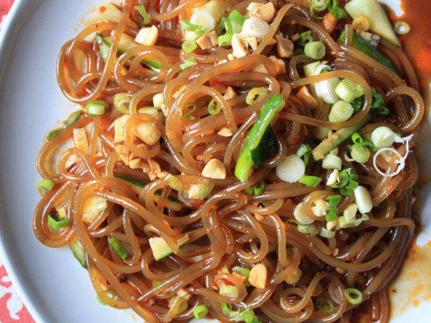 Vermicelli Rice Noodles  Vermicelli in Chili Oil Soy Sauce and Vinegar Recipe