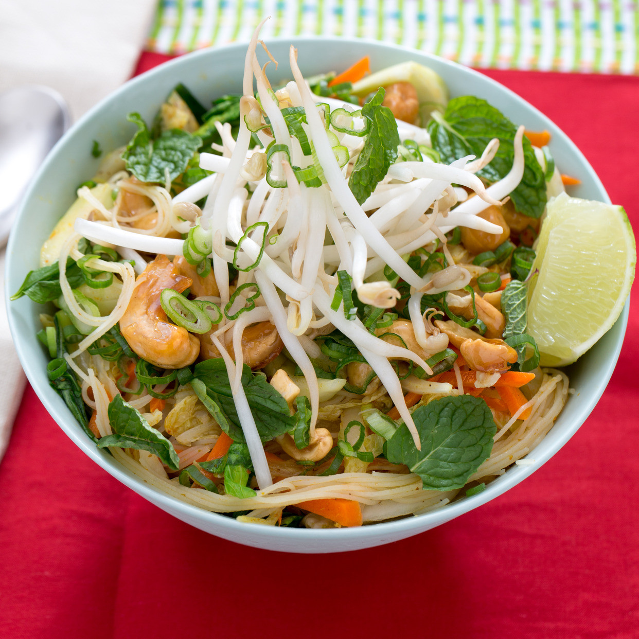 Vermicelli Rice Noodles  Recipe Curried Vermicelli Noodles with Bok Choy Bean