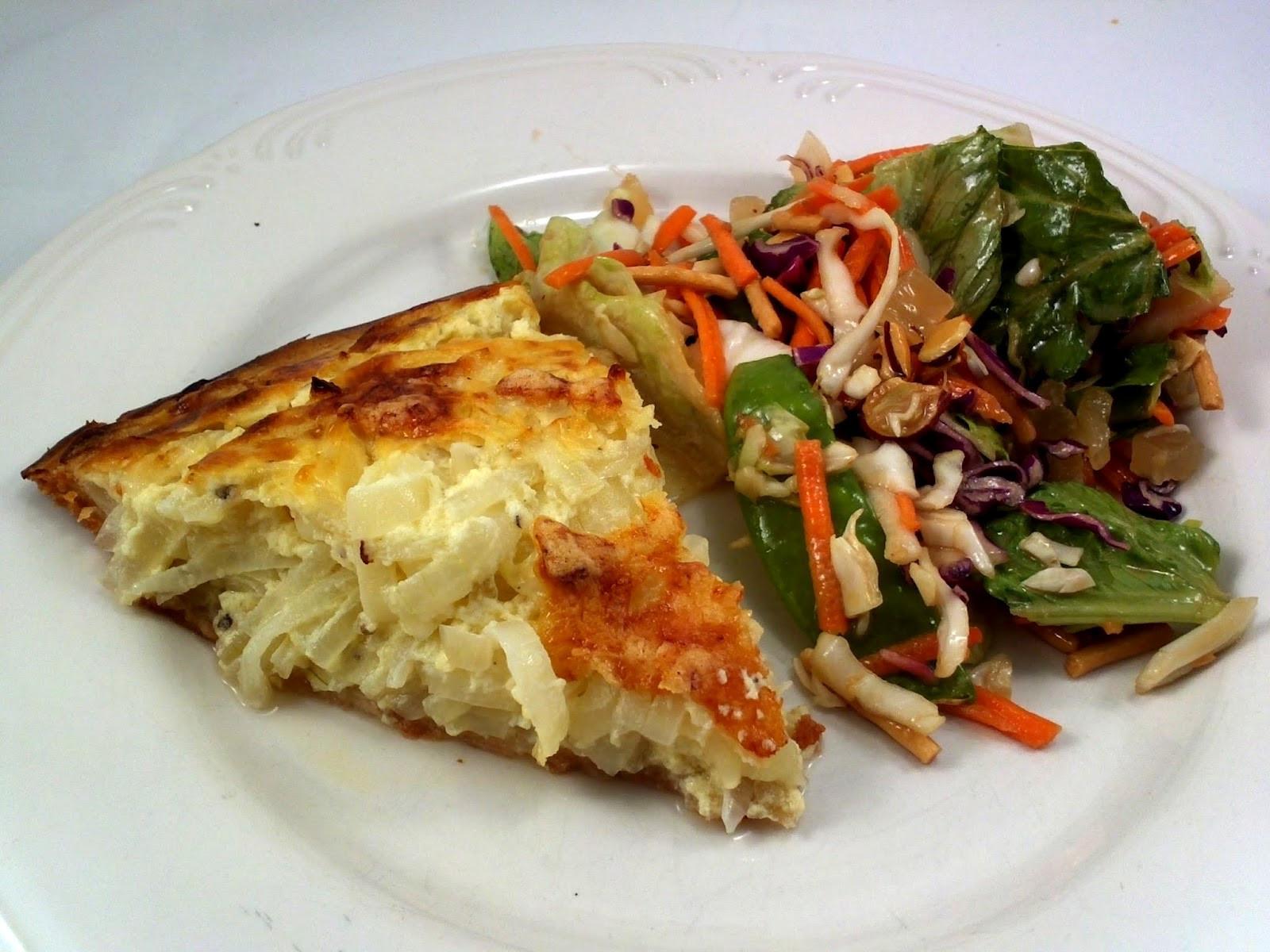 Vidalia Onion Pie  Recipes by the Haggis and the Herring Secret Recipe Club