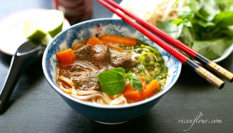 Vietnamese Beef Stew  Vietnamese Beef Stew recipe with Noodles or Bread Bò kho