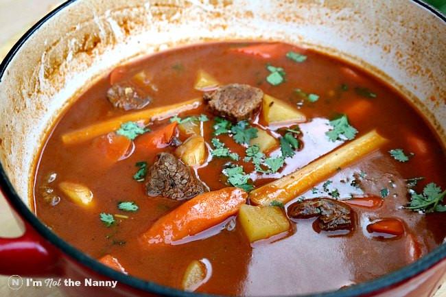 Vietnamese Beef Stew  Vietnamese Beef Stew Bò Kho Recipe SundaySupper I m