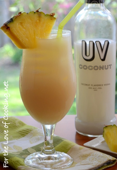 Vodka And Pineapple Juice Drinks  Coconut Vodka and Pineapple Juice