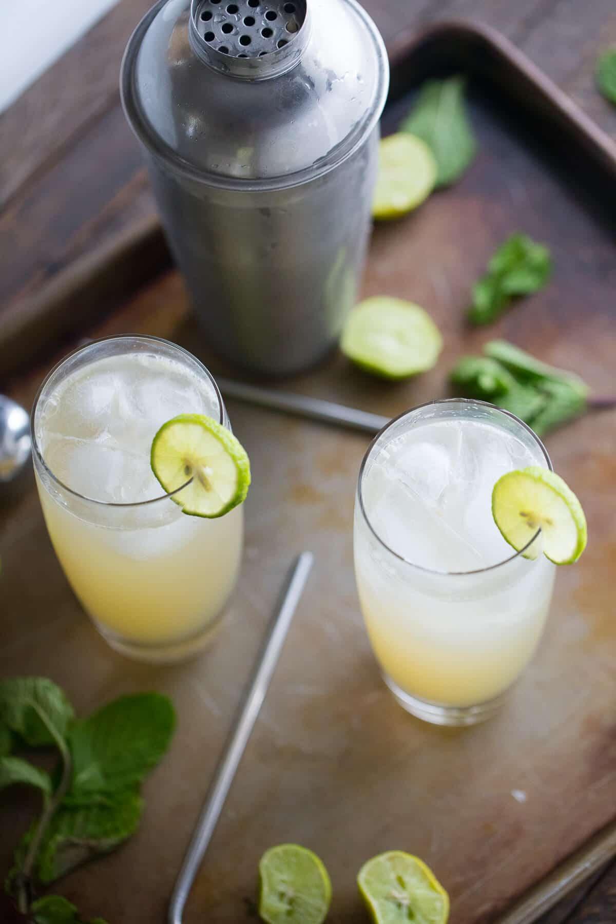 Vodka Collins Drinks  Key Lime Vodka Collins LemonsforLulu