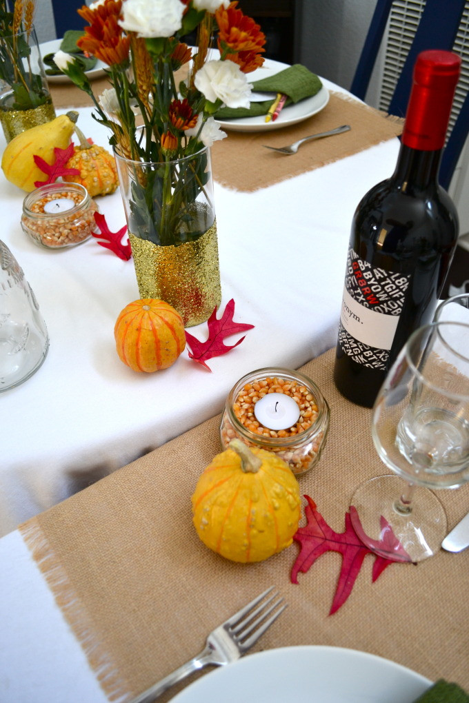 Vons Thanksgiving Dinner 2016  Friendsgiving Decorations Little Bits of