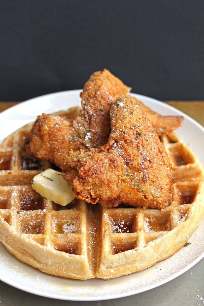 Waffles And Chicken  Chicken And Waffles Recipe — Dishmaps