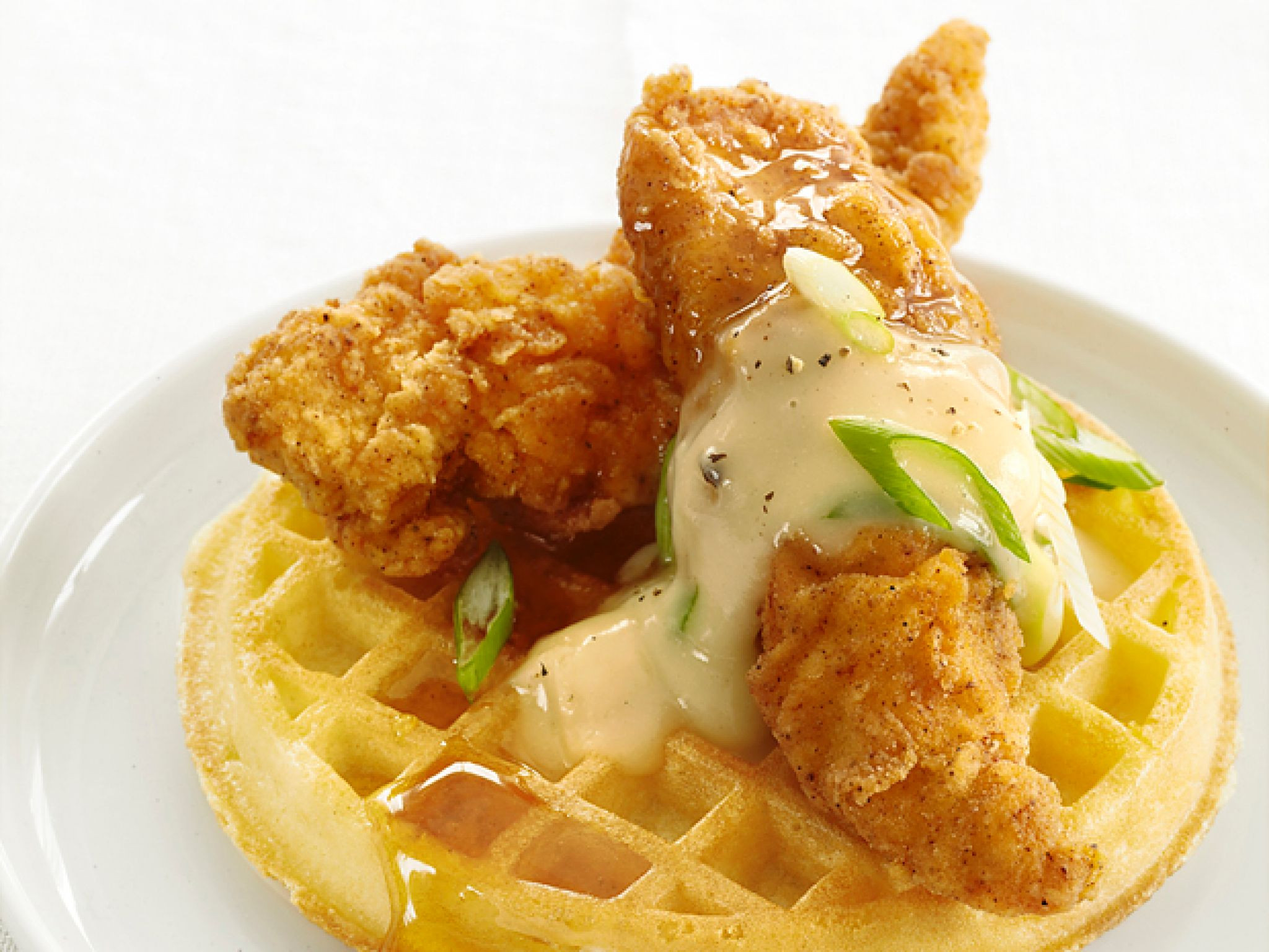 Waffles And Chicken  Mildred Pierce Chicken and Waffles Recipe