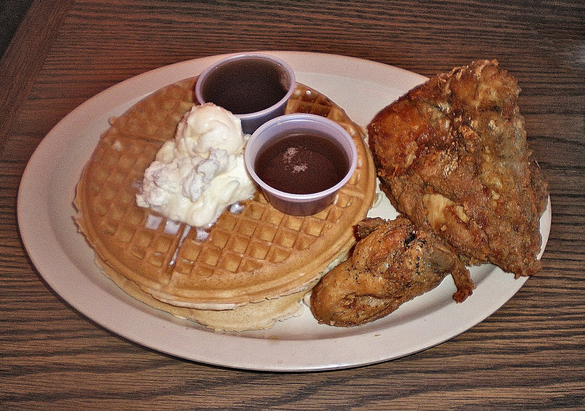 Waffles And Chicken  Roscoe s House of Chicken and Waffles