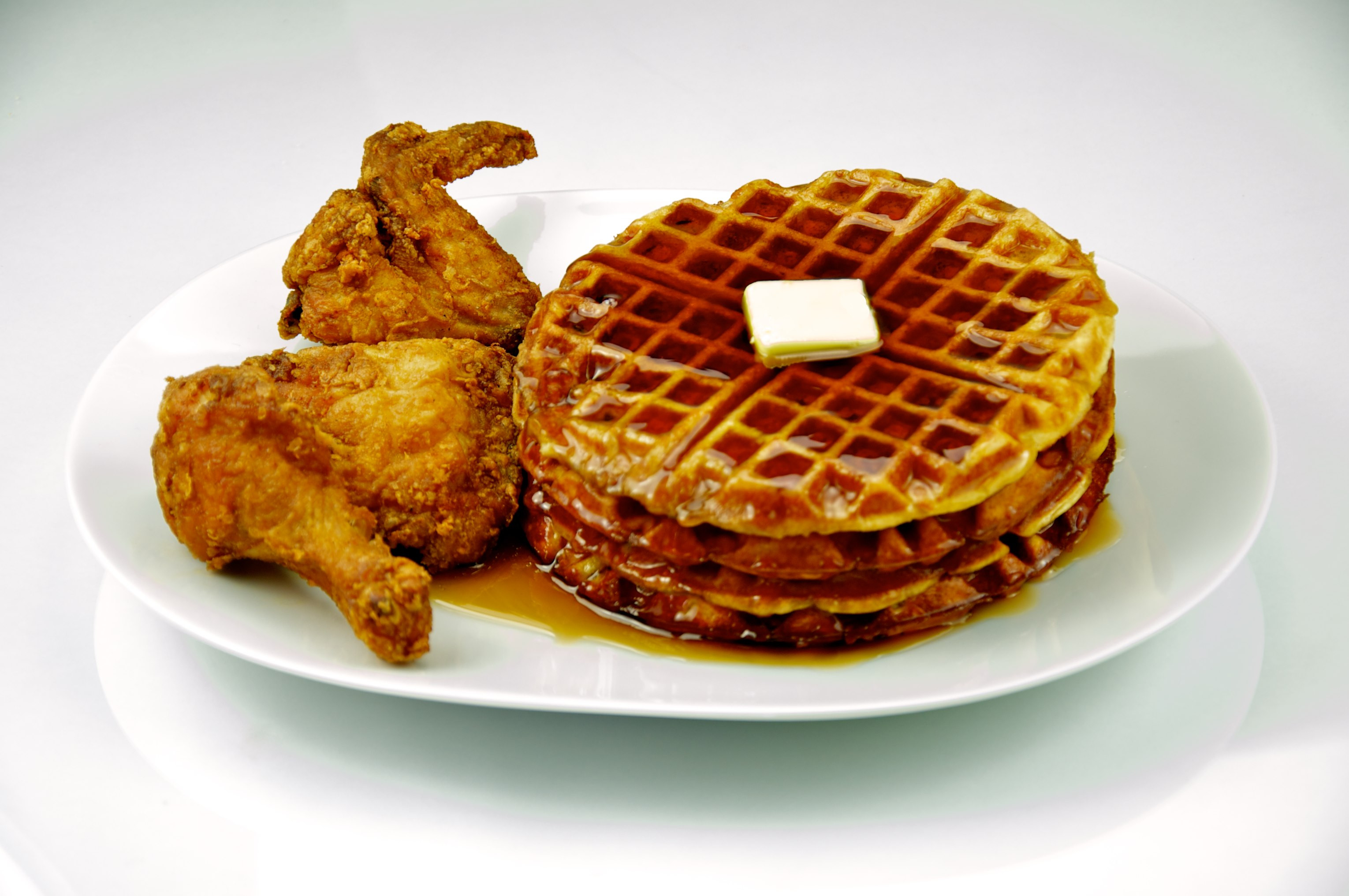 Waffles And Chicken  File Chicken and Waffles 201 Evan Swigart