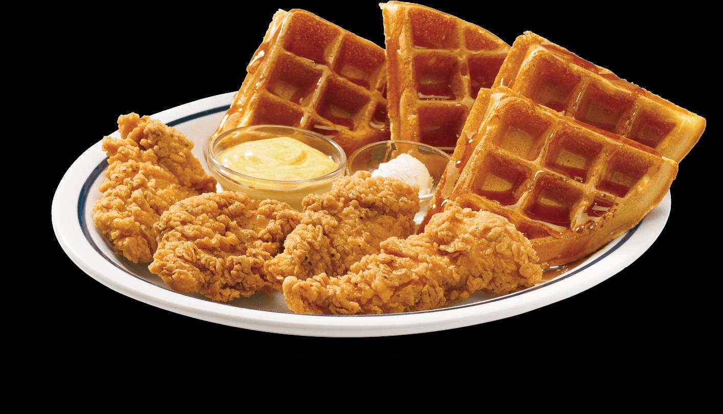 Waffles And Chicken  JCL DIY Food Hacks BurntX