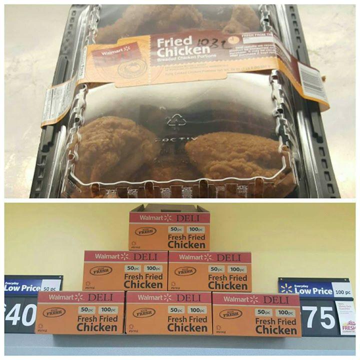 Walmart Fried Chicken Prices  Walmart Supercenter 3400 Singing Hills Blvd Sioux City