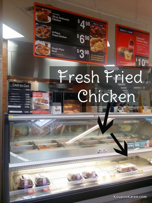 Walmart Fried Chicken Prices  AD Easy Broccoli Slaw Recipe SummerYum
