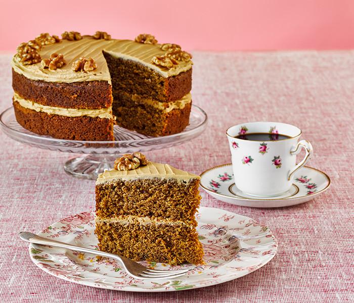 Walnut Cake Recipe  coffee walnut cake recipe