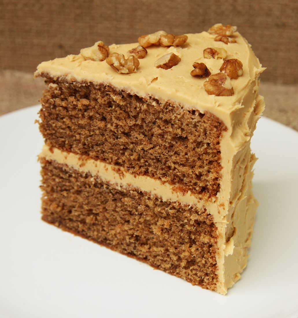 Walnut Cake Recipe  coffee and walnut cake nigella