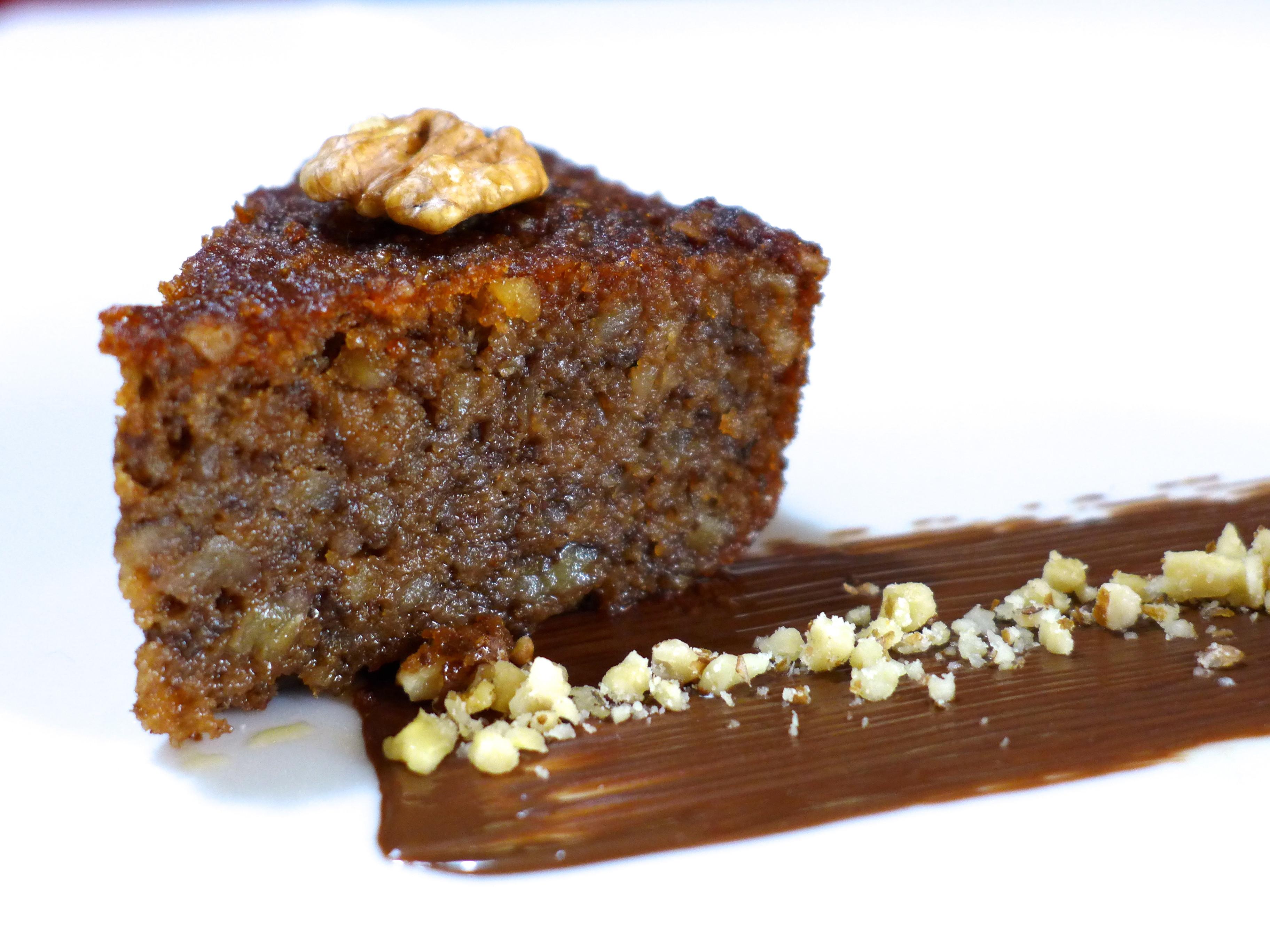 Walnut Cake Recipe  Karidopita Karithopita recipe Greek Walnut Cake with