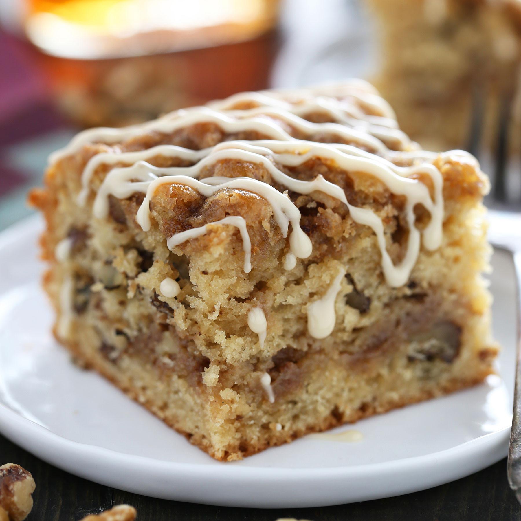Walnut Cake Recipe  Maple Walnut Coffee Cake Handle the Heat
