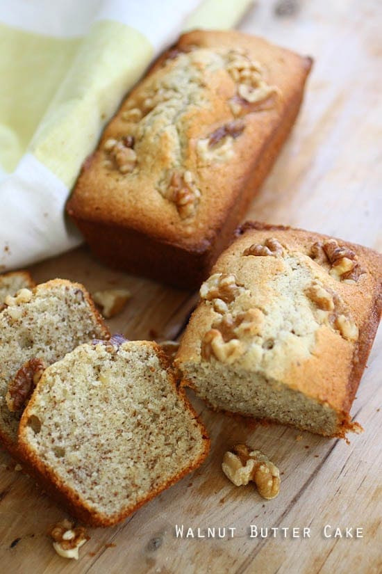 Walnut Cake Recipe  Walnut Butter Cake