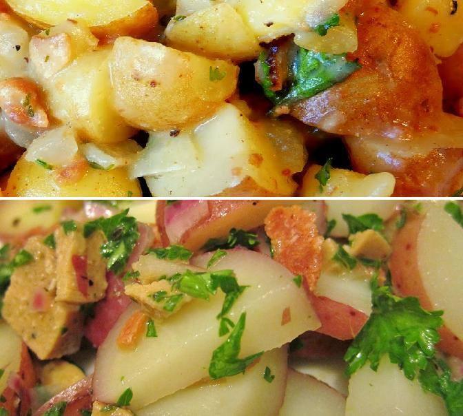 Warm German Potato Salad  Hot German Potato Salad