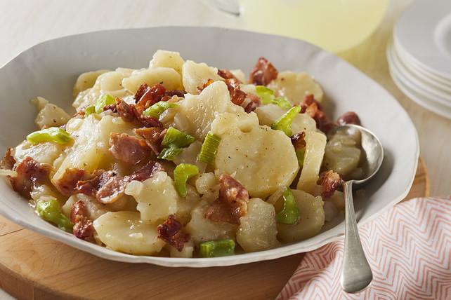 Warm German Potato Salad  Hot German Potato Salad Kraft Recipes
