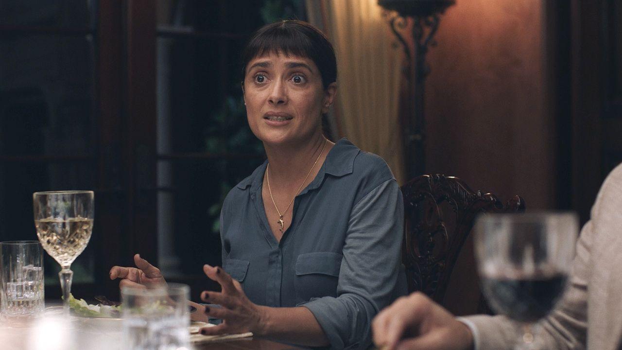 Watch Beatriz At Dinner  Beatriz at Dinner Exclusive Clip Salma Hayek and John