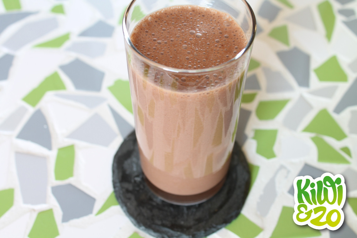 Weight Gain Smoothies  Lekkere en gezonde chocolade weightgain smoothie Kiwi&zo