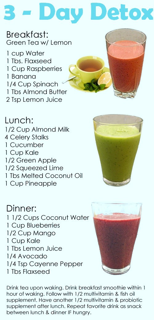 Weight Loss Detox Drinks Recipes  Detox From Marijuana Natural Healthy Natural Weight