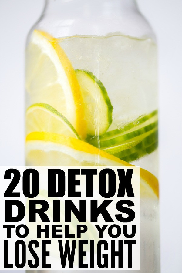 Weight Loss Detox Drinks Recipes  20 detox drinks to help you lose weight