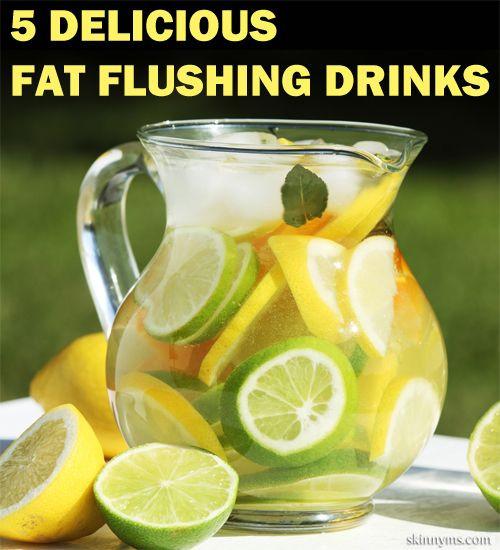 Weight Loss Detox Drinks Recipes  Best 25 Fat flush water ideas on Pinterest
