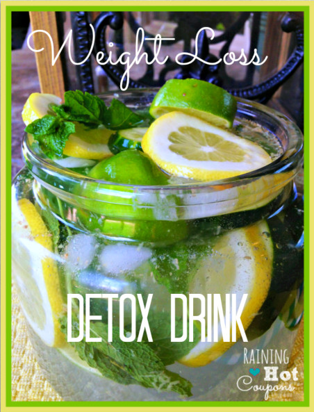 Weight Loss Detox Drinks Recipes  detox water recipes for weight loss