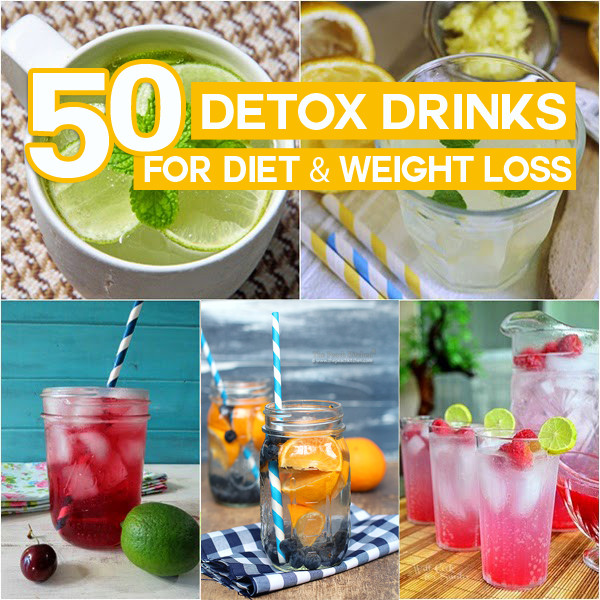 Weight Loss Detox Drinks Recipes  50 Detox Drinks For Diet & Weight Loss You Can Do At Home