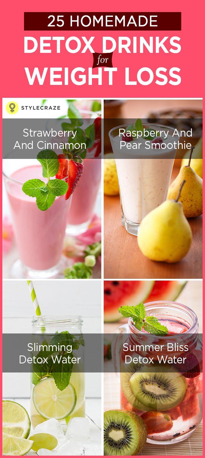 Weight Loss Detox Drinks Recipes  25 bästa Toxin cleanse idéerna på Pinterest