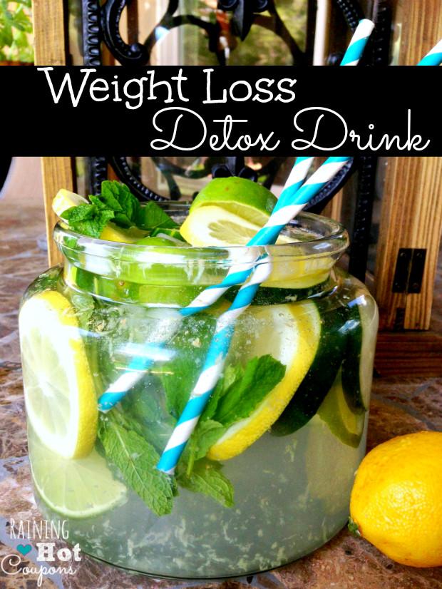 Weight Loss Detox Drinks Recipes  Weight Loss Detox Drink Recipe
