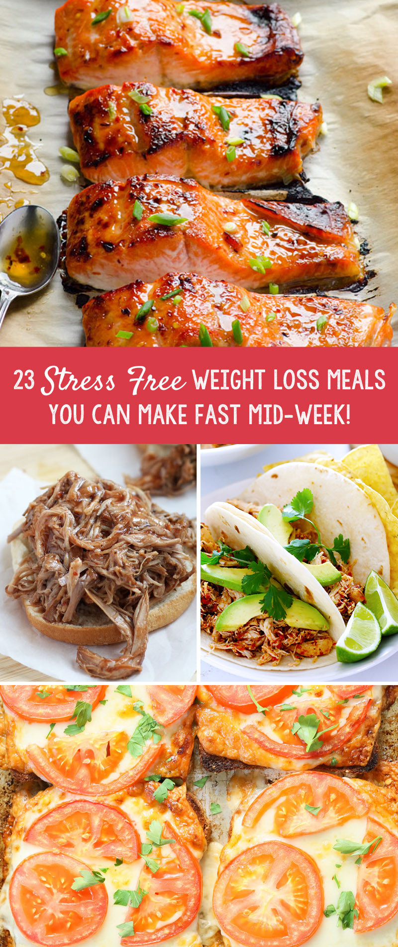 Weight Loss Dinner  23 Stress Free Weight Loss Meals You Can Make Fast Mid Week