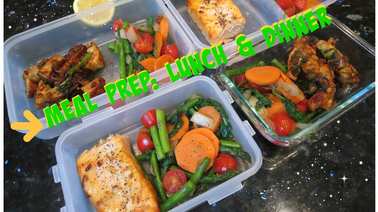 Weight Loss Dinner  Meal Prepping for weight loss Lunch & dinner
