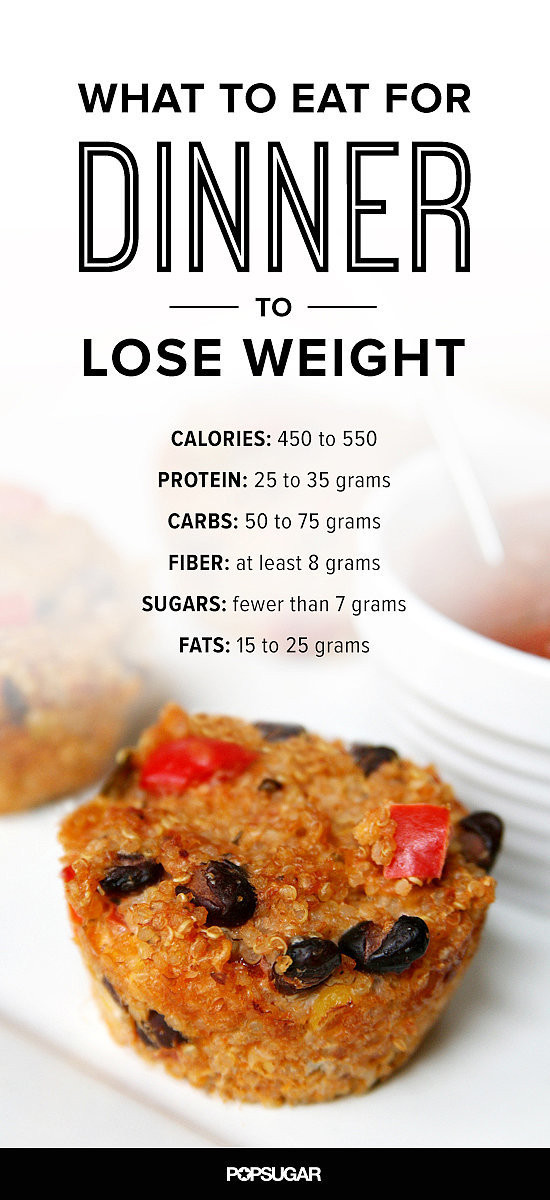 Weight Loss Dinner  What to Eat For Dinner to Lose Weight