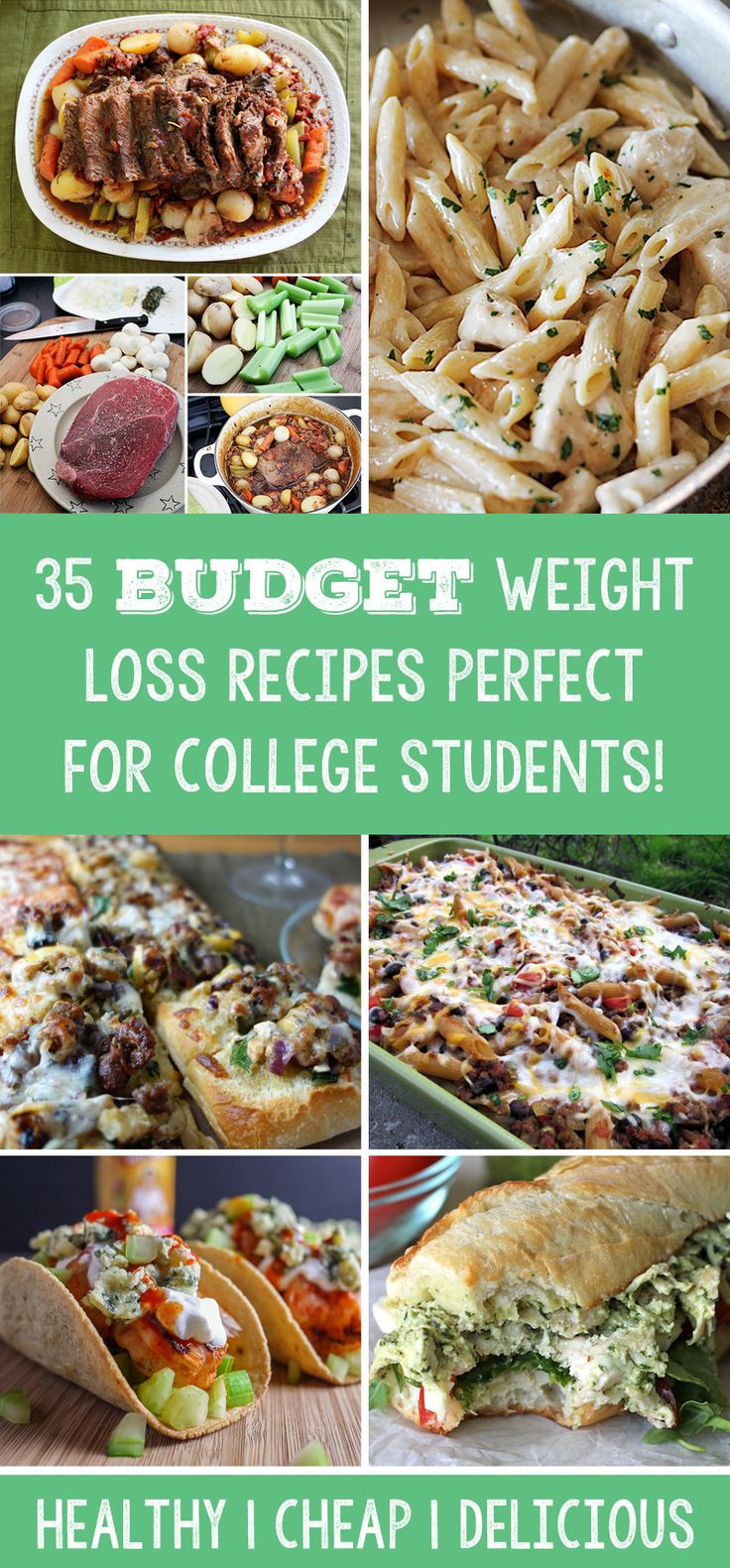 Weight Loss Foods Recipes  35 Bud Weight Loss Recipes Perfect For College Students