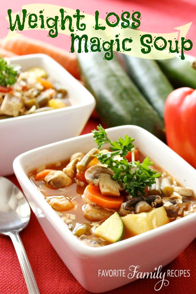 Weight Loss Foods Recipes  Best Weight Loss Soup – Top Fast Healthy Authentic