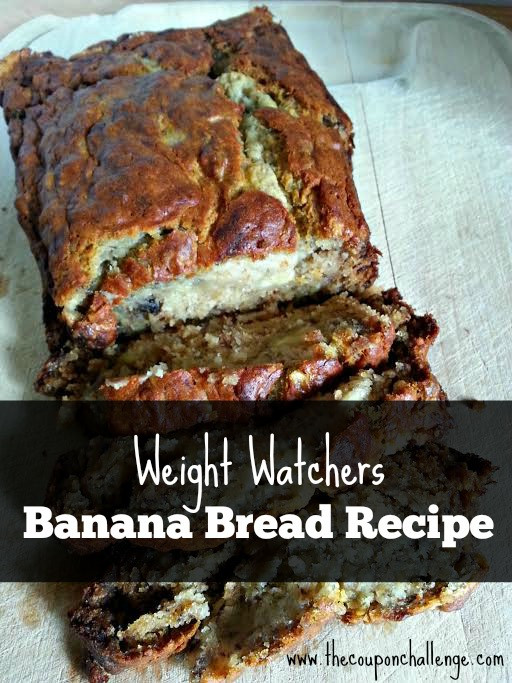Weight Watchers Banana Bread  Weight Watchers Banana Bread Recipe