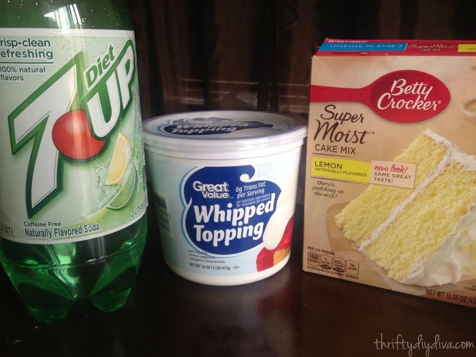 Weight Watchers Dessert Recipes With Cool Whip  Weight Watchers Lemon and 7UP Cake Recipe