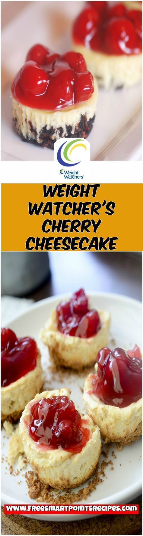 Weight Watchers Dessert Recipes With Cool Whip  Weight Watcher's Cherry Cheesecake weight watchers recipes