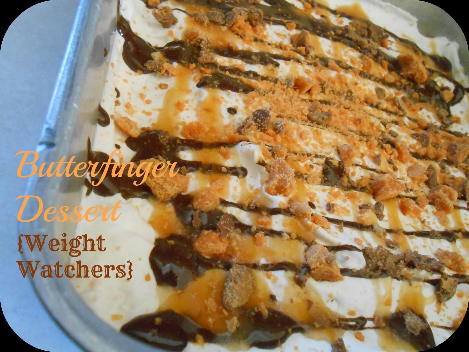 Weight Watchers Dessert Recipes With Cool Whip  The Better Baker Butterfinger Dessert Weight Watchers