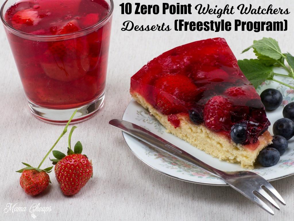 Weight Watchers Desserts Freestyle  10 Zero Point Weight Watchers Desserts Freestyle Program