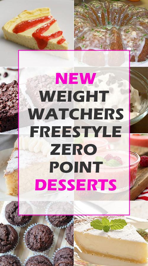 Weight Watchers Desserts Freestyle  Weight Watchers Freestyle Zero Point Desserts