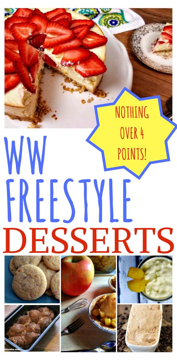 Weight Watchers Desserts Freestyle  10 Weight Watchers Freestyle Dessert Recipes Just Short